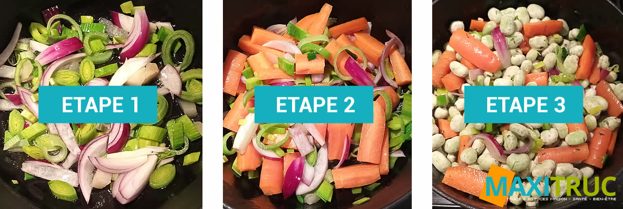 recette ragoût de fèves