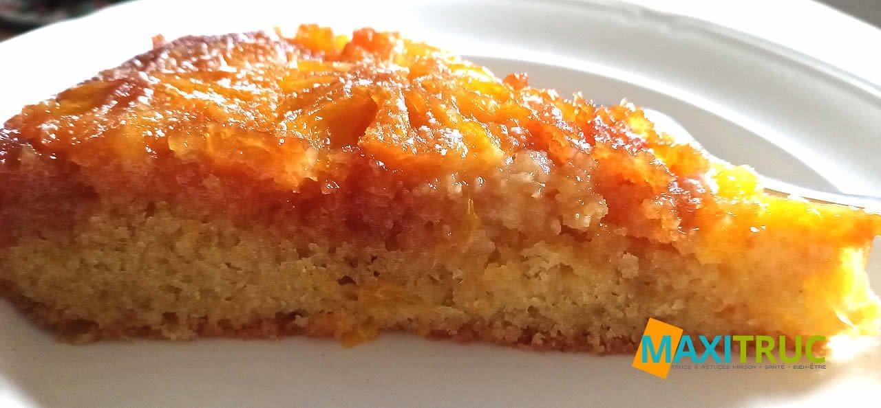 Gâteau genre Tatin à l'orange